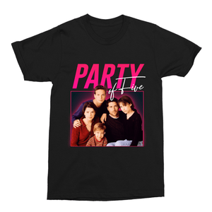 Party of Five 90s TV Retro Unisex Vintage Throwback T-Shirt - Timeless Tees