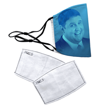 Load image into Gallery viewer, Peter Kay Reusable Premium Face Mask Cover with Filters - Timeless Tees