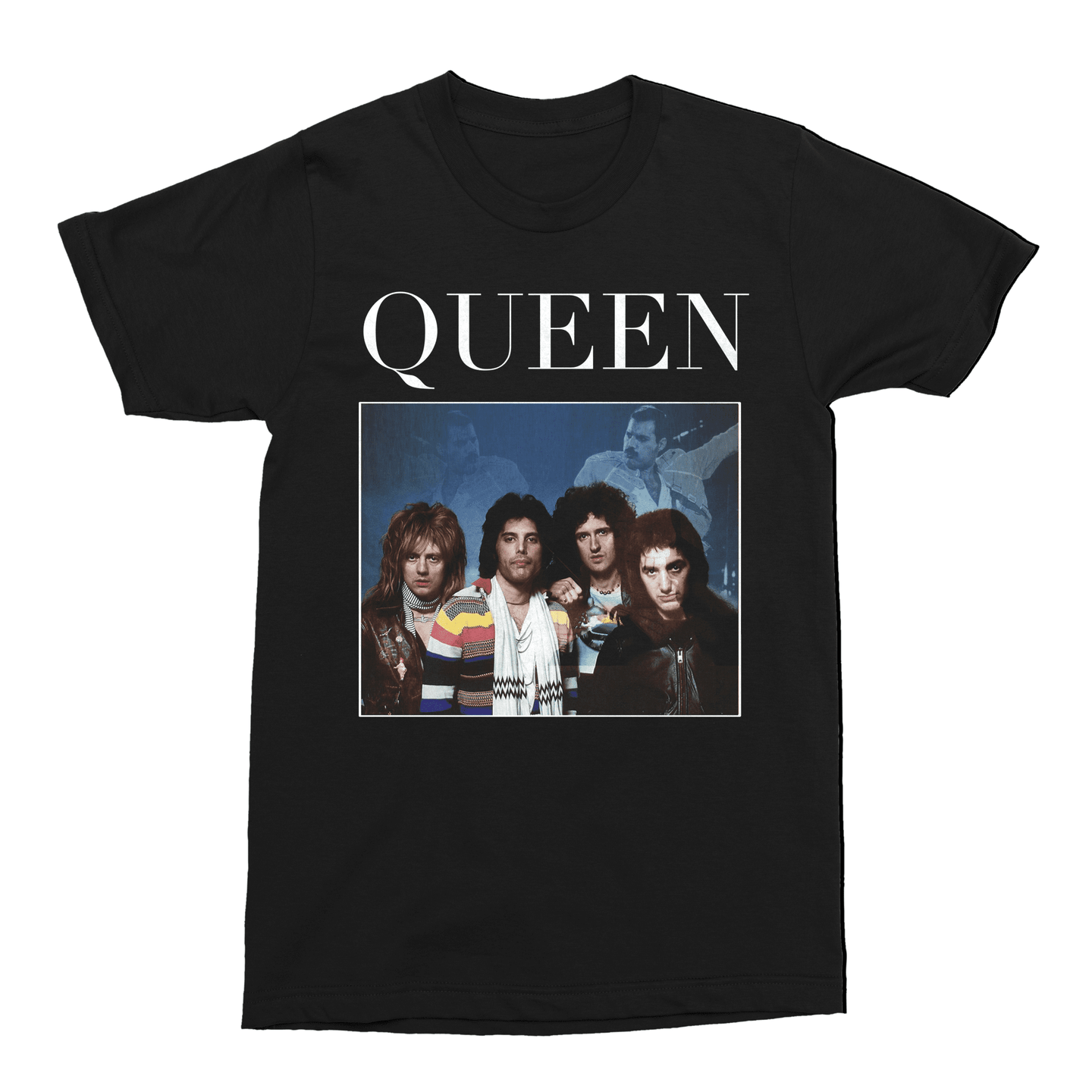 Queen Freddie Mercury Unisex Vintage Throwback T-Shirt - Timeless Tees