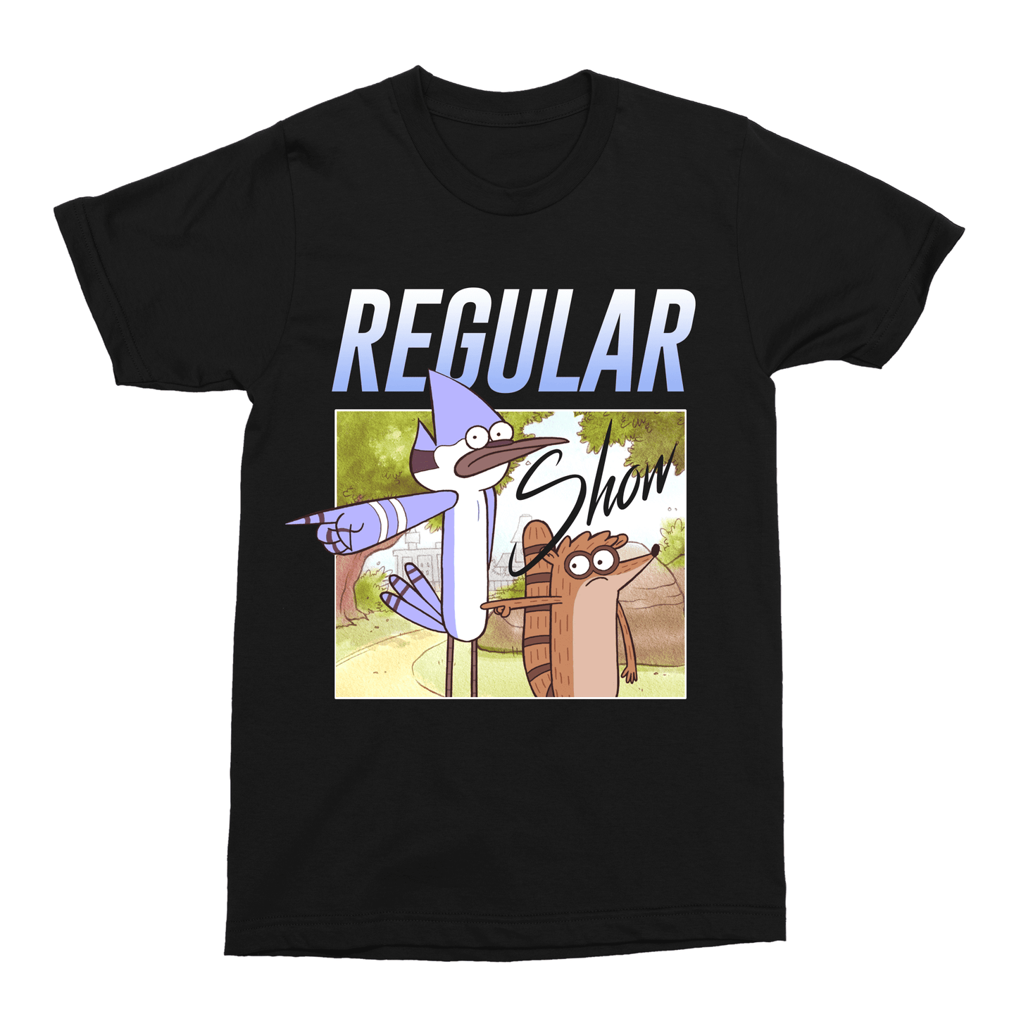 Regular Show Cartoon Unisex Vintage Throwback T-Shirt - Timeless Tees