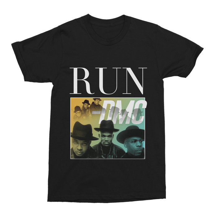 Run-DMC Hip Hop Unisex Vintage Throwback T-Shirt - Timeless Tees