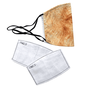 Self Portrait by Leonardo da Vinci Reusable Premium Face Mask Cover with Filters - Timeless Tees