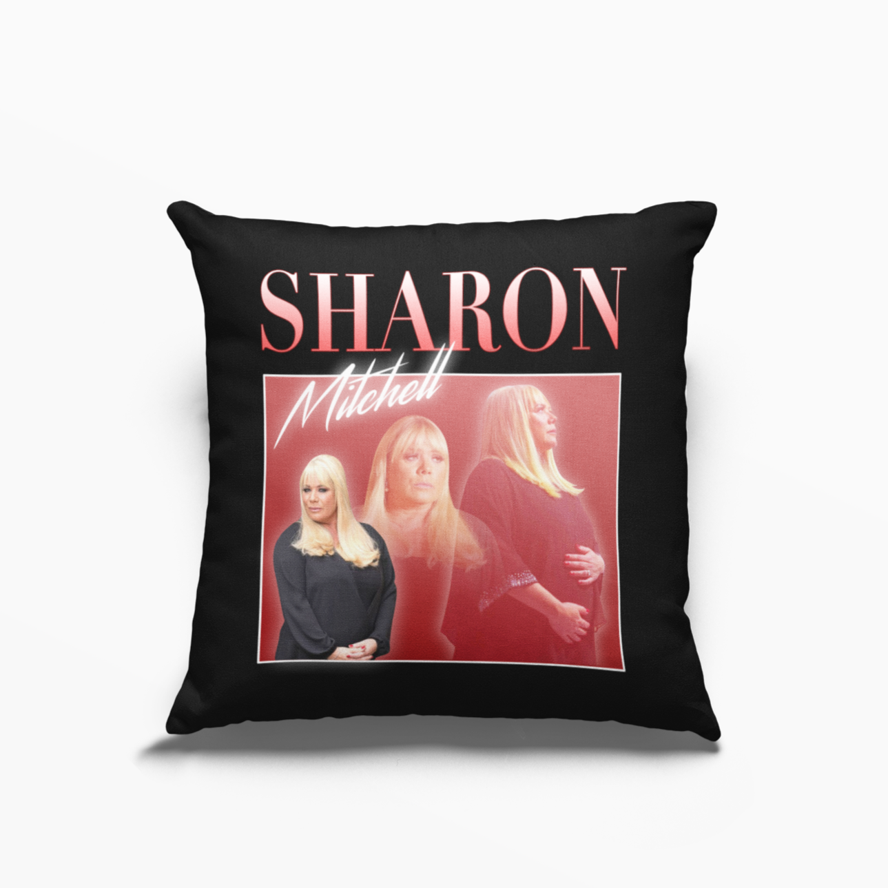 Sharon Mitchell EastEnders Poly Linen Throwback Cushion