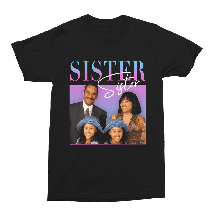 Sister, Sister 90s TV Unisex Vintage Throwback T-Shirt - Timeless Tees