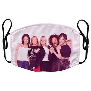 Spice Girls Reusable Premium Face Mask Cover with Filters - Timeless Tees