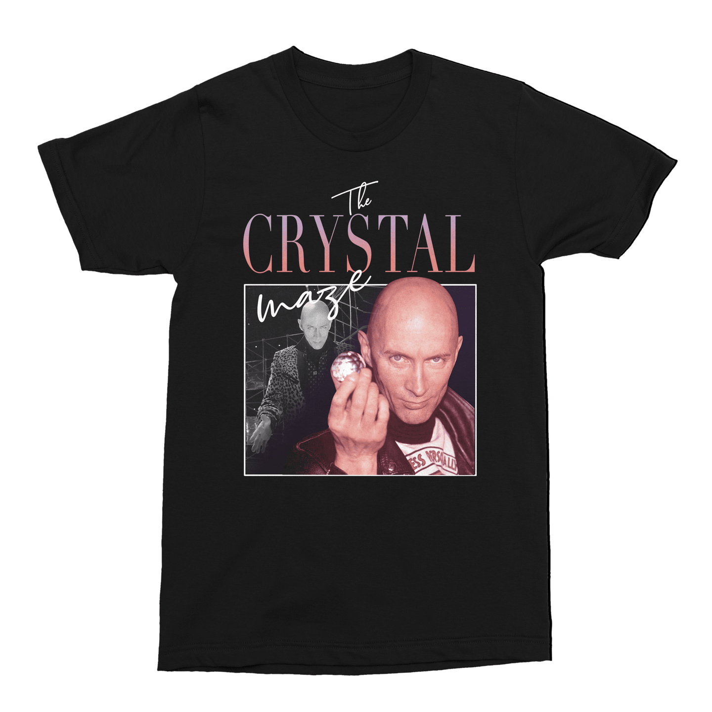The Crystal Maze Richard O'Brien 90s TV Unisex Vintage Throwback T-Shirt - Timeless Tees