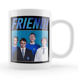The Inbetweeners Friend Vintage Style Throwback Coffee Tea Mug - Timeless Tees