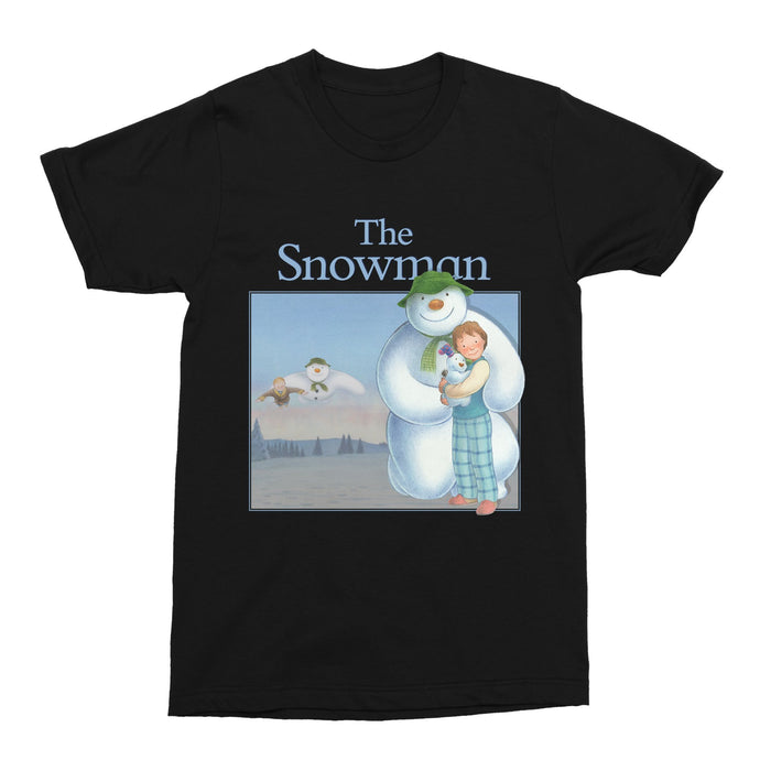 The Snowman Christmas Movie Xmas 2020 Unisex Vintage Throwback T-Shirt - Timeless Tees