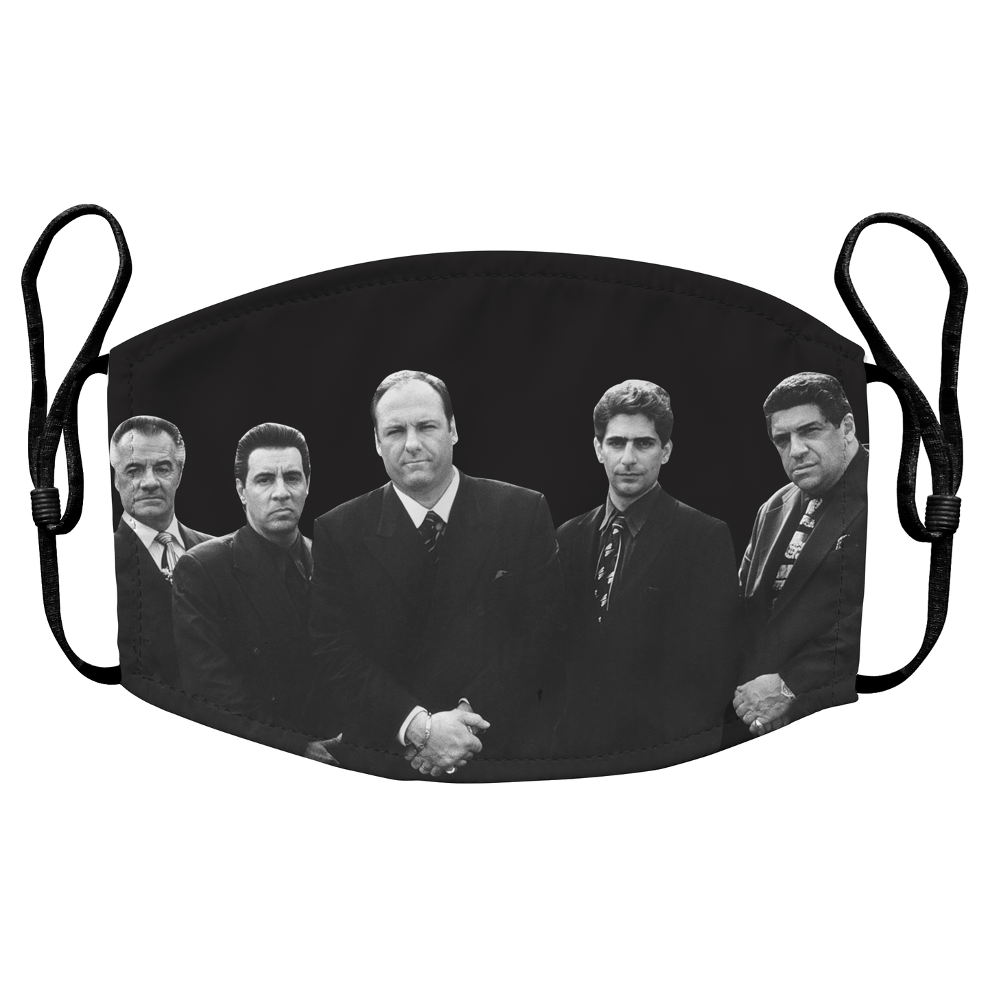 The Sopranos Reusable Premium Face Mask Cover with Filters - Timeless Tees