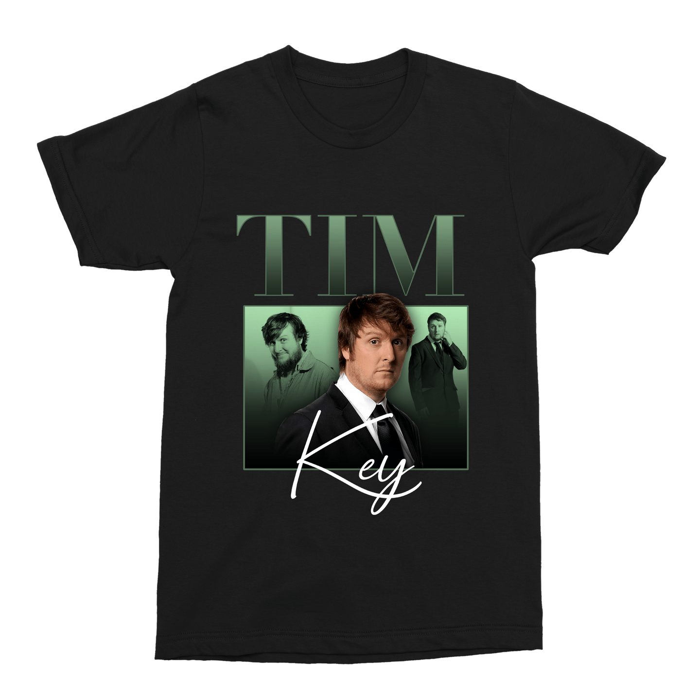 Tim Key Unisex Vintage Throwback T-Shirt - Timeless Tees