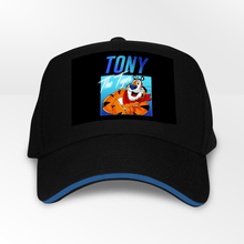 Load image into Gallery viewer, Tony the Tiger Frosties 5 Panel Throwback Cap - Timeless Tees