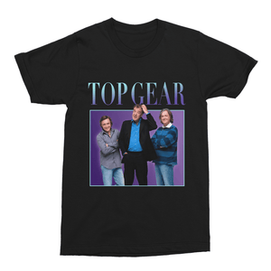 Top Gear Unisex Vintage Throwback T-Shirt - Timeless Tees