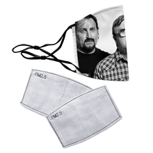 Load image into Gallery viewer, Trailer Park Boys Reusable Premium Face Mask Cover with Filters - Timeless Tees