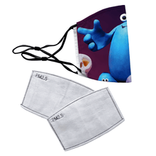 Load image into Gallery viewer, Trap Door Reusable Premium Face Mask Cover with Filters - Timeless Tees
