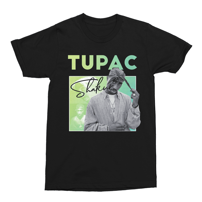 Tupac Shakur 2Pac 90s Hip Hop Unisex Vintage Throwback T-Shirt - Timeless Tees