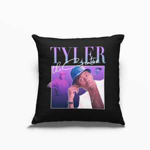 Tyler the Creator Poly Linen Throwback Cushion - Timeless Tees