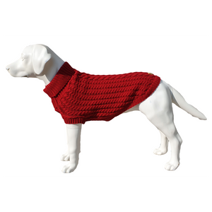 The Chunk Dog Jumper in Red