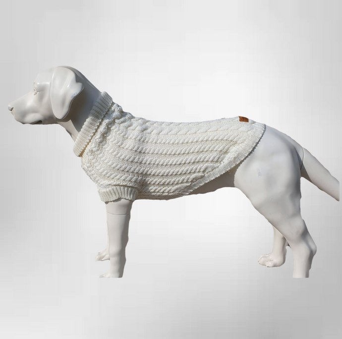 The Gelert Dog Jumper in Oatmeal