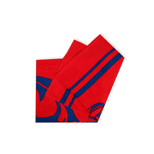 Red Anchor Beach Towel