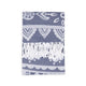 Paisley Beach Towel Soft Gray - Hencely