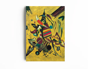 Wassily Kandinsky Fine Art Reproduction | Abstract Art Deco Painting | Canvas Wall Decor - Hencely