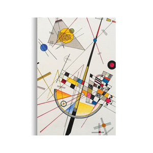 Delicate Tension by Wassily Kandinsky | Kandinsky Art Reproduction on Canvas | Canvas Wall Art - Hencely