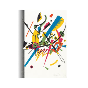 Small Worlds by Kandinsky | Fine Art Reproduction | Canvas Print Wall Art - Hencely