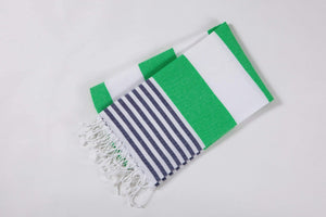 Cotton Turkish Beach towel stripe by hencely