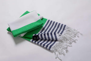 hencely striped beach towel