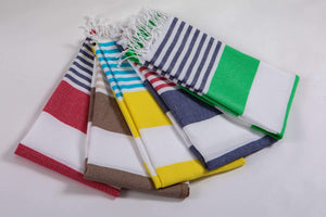 Bold Stripes  Beach Towels Hencely