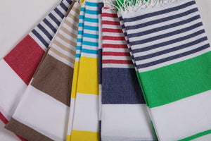 Stripes Beach Towels by Hencely