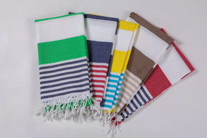 Bold Stripes  Beach Towels many colors available Hencely