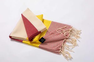 Hencely Striped Beach Towel - Hencely