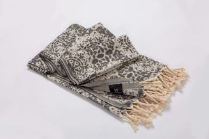 Chain Collection | Beach Towels | % 100 Turkish Cotton Beach Blanket | Quickdry  & Lightweight - Hencely
