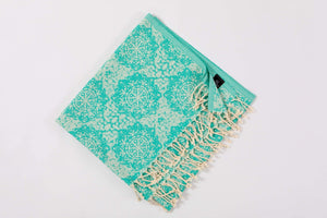 Beach Towels Cotton Quickdry  & Lightweight - Hencely