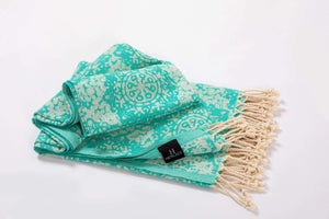 Chain design Turkish Beach Towels - Hencely