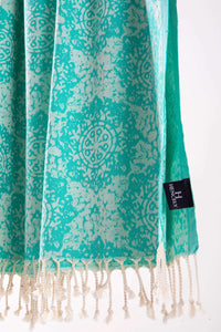 Hencely Chain Collection 100% Cotton Beach Towels - 4 Colors - Hencely