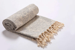 Quickdry Cotton Turkish beach towels- Hencely