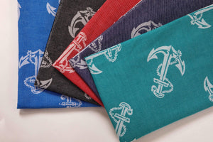 Anchors 100% Cotton Soft Beach Towel - Beach Blanket 5 Colors - Hencely
