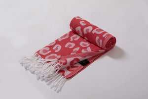 Leopard Print Beach Towel - 2 Colors - Hencely