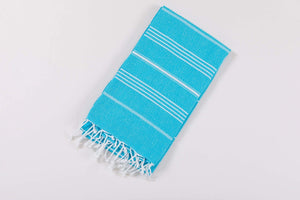 Superior 100% Cotton Turkish Beach Towels & Beach Blanket - 20 Colors - Hencely