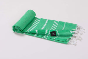 Turkish Beach Towels | Beach Blanket |Superior 100% Cotton - 20 Colors - Hencely