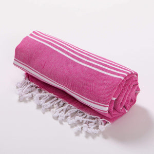 Superior %100 Cotton Turkish Beach Towel & Beach Blanket