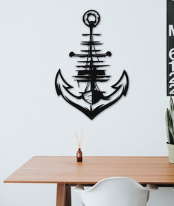 Anchor Metal Wall Art - Por lo tanto