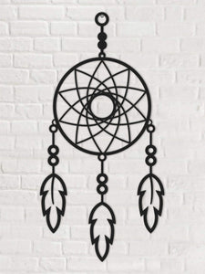 Dreamcatcher Metal Wall Art - Por lo tanto