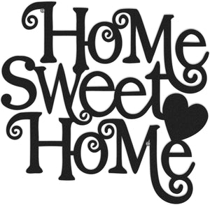 Metal Home Sweet Home Wall Art Decor - Hencely