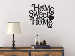Home Sweet Home Metal Wall Art | Home Sweet Home Wall Decor - Hencely