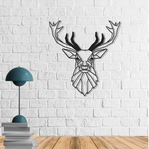 Deer Metal Wall Art - Por lo tanto