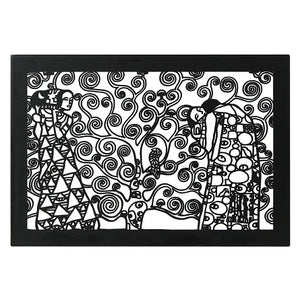"""Gustav Klimt- Tree Of Life"" Reproduction Metal Wall Art & Metal Wall Hanging - Hencely"