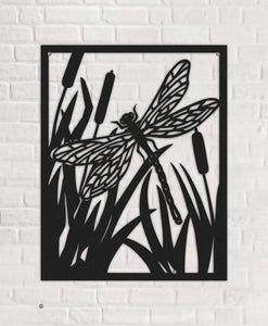 The Butterfly Black Metal Wall Art - Por lo tanto
